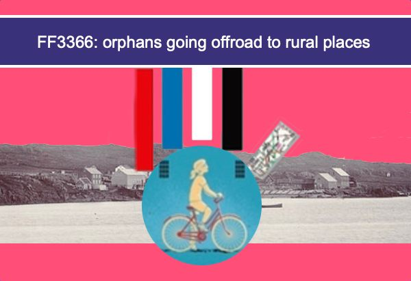FF3366: orphans going offroad to rural places