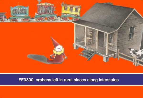 FF3300: orphans left in rural places along interstates
