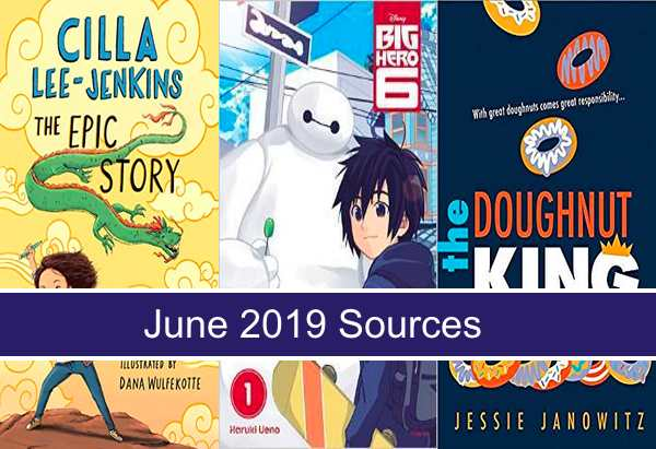 June book sources