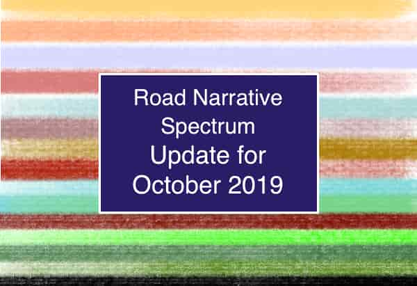 Road Narrative Update for October 2019 2019