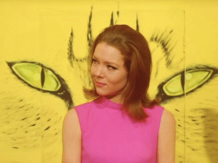Emma Peel  investigates in The Inner Tiger