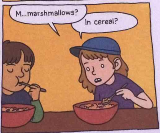 Marshmallows in cereal?