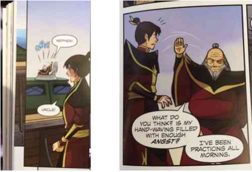 Uncle Iroh to the rescue.