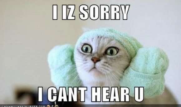 I Iz Sorry. I cant hear u.