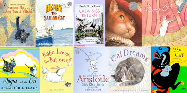 10 Best Cat Picture Books for 2010