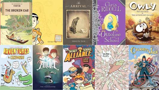 10 Best Graphic Novels for 2010