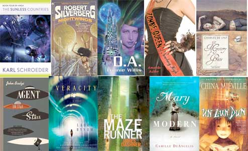 10 Best Science Fiction and Fantasy Books for 2010