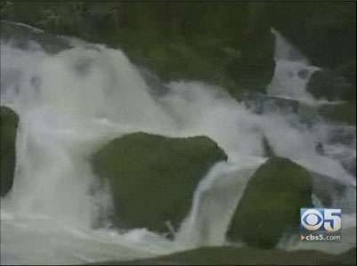 CBS 5 Marin Waterfall