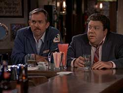 Cliff and Norm from Cheers