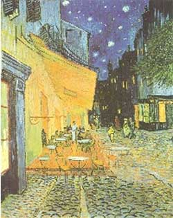 A Cafe Terrace at Night (link goes to Amazon)
