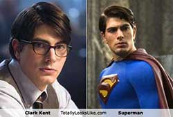 Clark Kent / Superman from totallylookslike.com