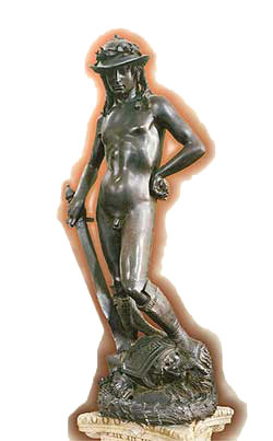 Donatello's David (link goes to Amazon)