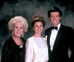 Mildred Krebs, Laura Holt and Remington Steele