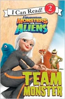 Monsters vs Aliens: Team Monster  cover art (Link goes to Powells)