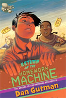 Return of the Homework Machine cover art (Link goes to Powells)