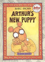 Arthur's New Puppy cover art (Link goes to Powells)