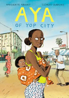 Aya of Yop City cover art (Link goes to Powells)