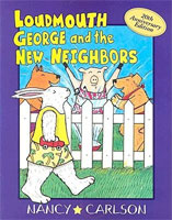 Loudmouth George and the New Neighbors cover art (Link goes to Powells)